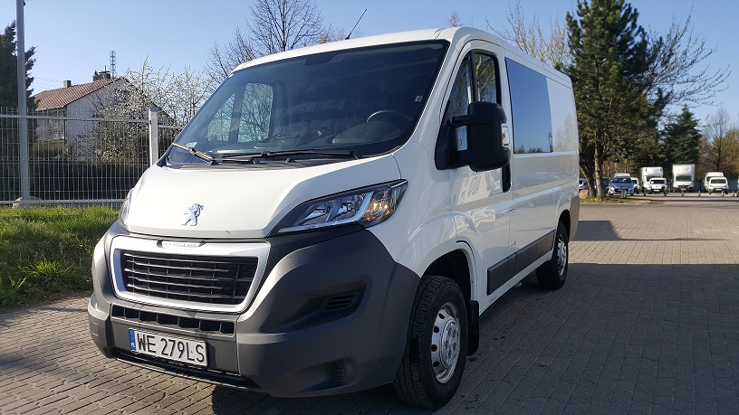 PEUGEOT BOXER L1H1 6 osobowy
