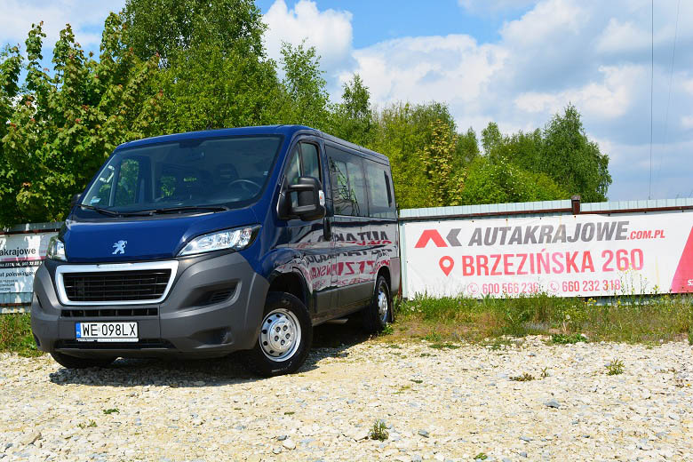 PEUGEOT BOXER L1H1 (9 osobowy)