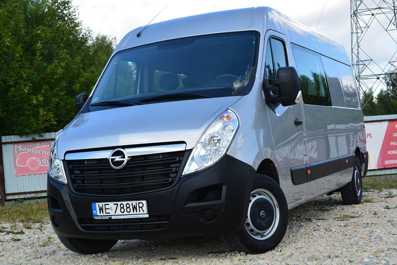OPEL MOVANO 7-osobowy