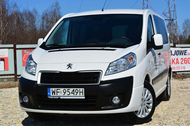 PEUGEOT EXPERT 5-osobowy