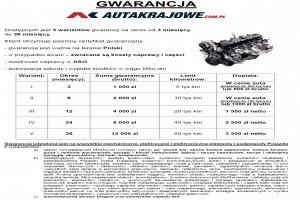 Gwarancja AutaKrajowe Premium